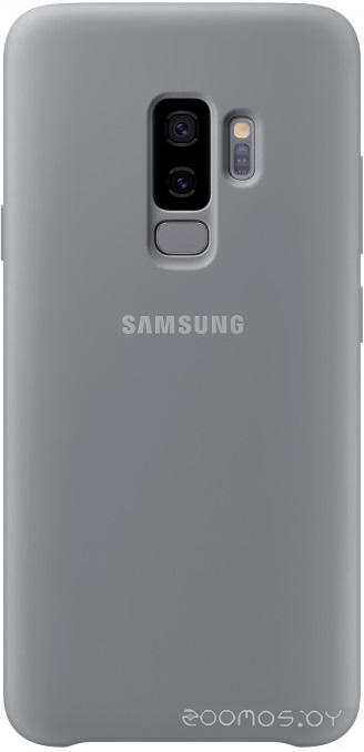 Чехол Samsung Silicone Cover для Samsung Galaxy S9 Plus (серый)