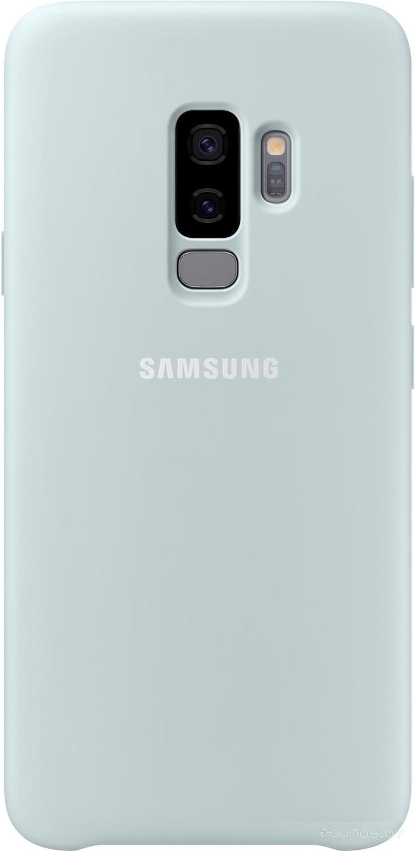 Чехол Samsung Silicone Cover для Samsung Galaxy S9 Plus (голубой)