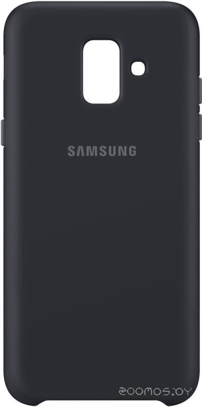 Чехол Samsung Dual Layer Cover для Samsung Galaxy A6 (Black)