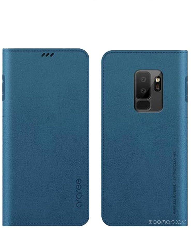 Чехол Araree Mustang Diary для Samsung Galaxy S9 Plus (Ash Blue)