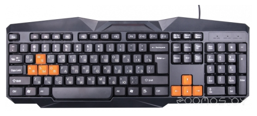 Клавиатура Ritmix RKB-152 Black USB