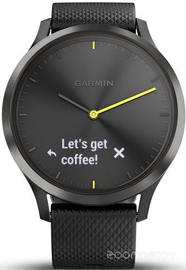 Умные часы Garmin Vivomove HR Sport L (Black)