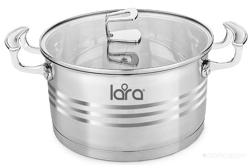 Кастрюля Lara Premium LR02-12