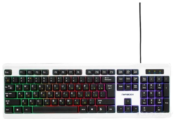 Клавиатура Гарнизон GK-110L Silver USB
