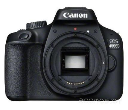 Цифровая фотокамера Canon EOS 4000D Double Kit 18-55mm III + 75-300 III