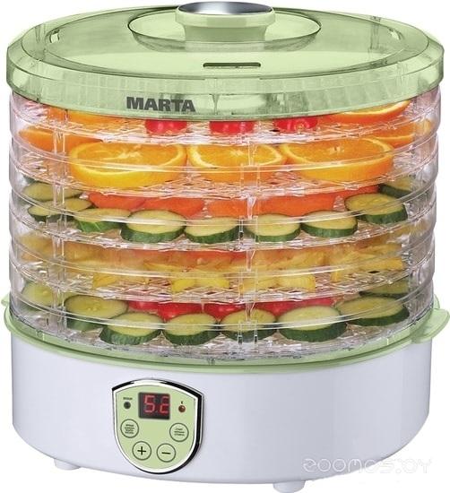 Сушилка для овощей и фруктов Marta MT-1951 (светлая яшма)