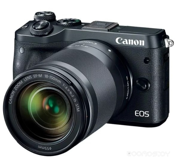 Цифровая фотокамера Canon EOS M6 Kit EF-M 15-45mm f/3.5-6.3 IS STM (Black)