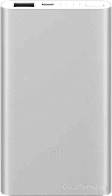 Портативное зарядное устройство Xiaomi Mi Power Bank 2 5000 (Silver)