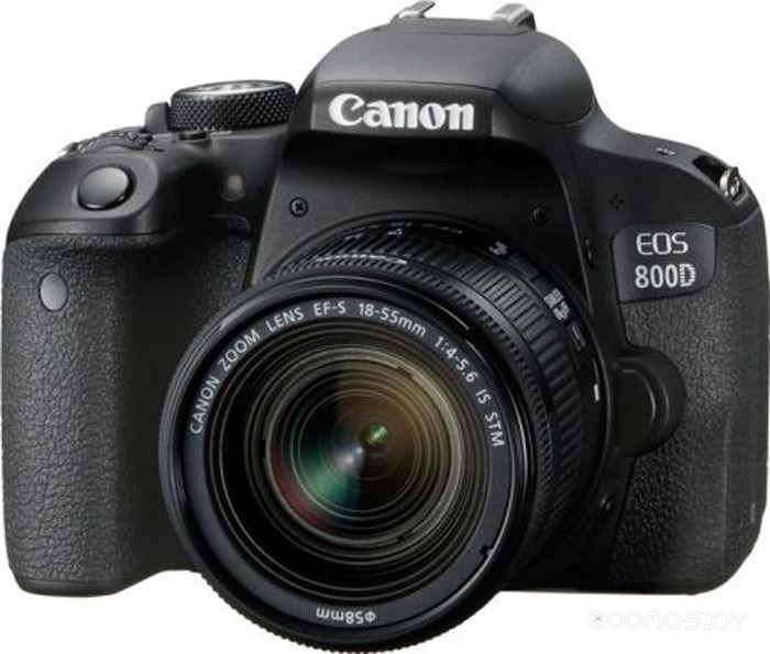 Цифровая фотокамера Canon EOS 800D Kit 18-55mm IS STM (Black)
