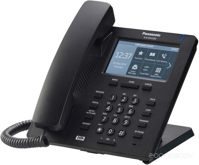 VoIP-телефон Panasonic KX-HDV330 (Black)