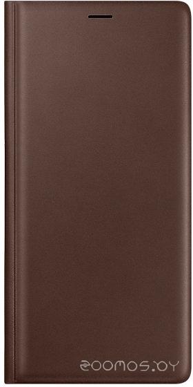Чехол Samsung Leather Wallet Cover для Galaxy Note 9 (Brown)