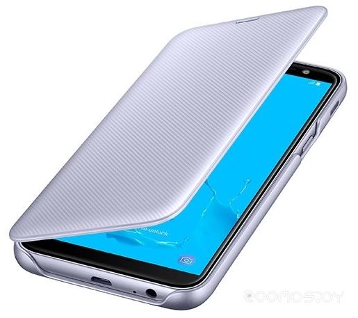Чехол Samsung Wallet Cover J6 2018 (Purple)