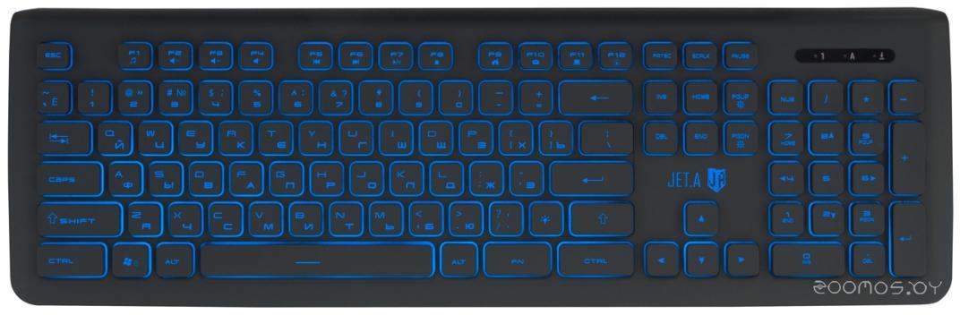 Клавиатура Jet.A SlimLine K20 LED (Dark Grey)