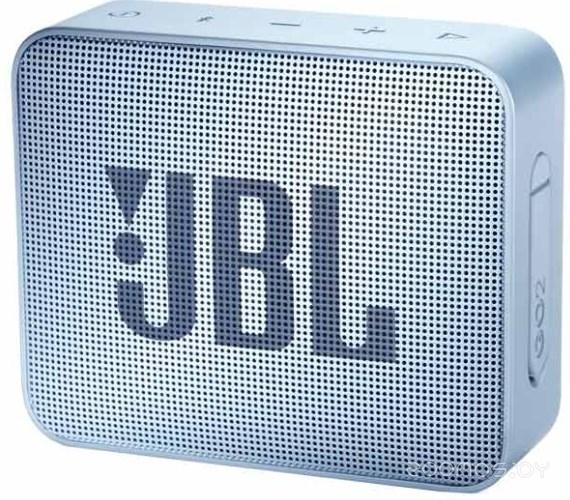 Портативная акустика JBL GO2 (Cyan)