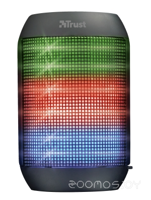 Портативная акустика Trust Ziva Wireless Bluetooth Speaker with party lights 21967
