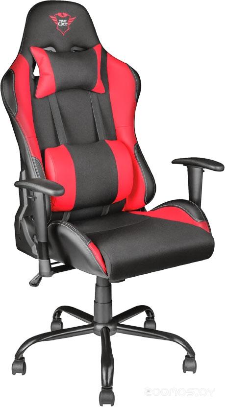 Офисное кресло Trust GXT 707R Resto (сетка, черный/красный)