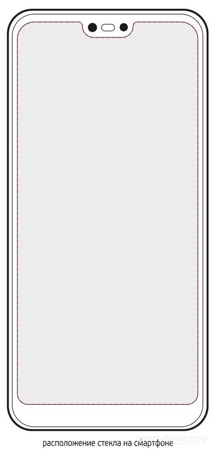 Защитное стекло Deppa Hybrid для Huawei P20 Lite 62434