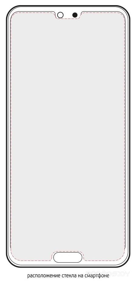 Защитное стекло Deppa Hybrid для Huawei P20 62432