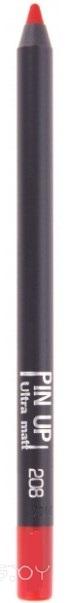 Карандаш для губ Lux Visage Pin Up ultra matt (тон 208)