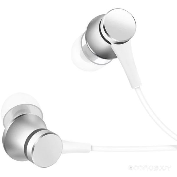 Наушники Xiaomi Mi In-Ear Headphones Basic (Silver)