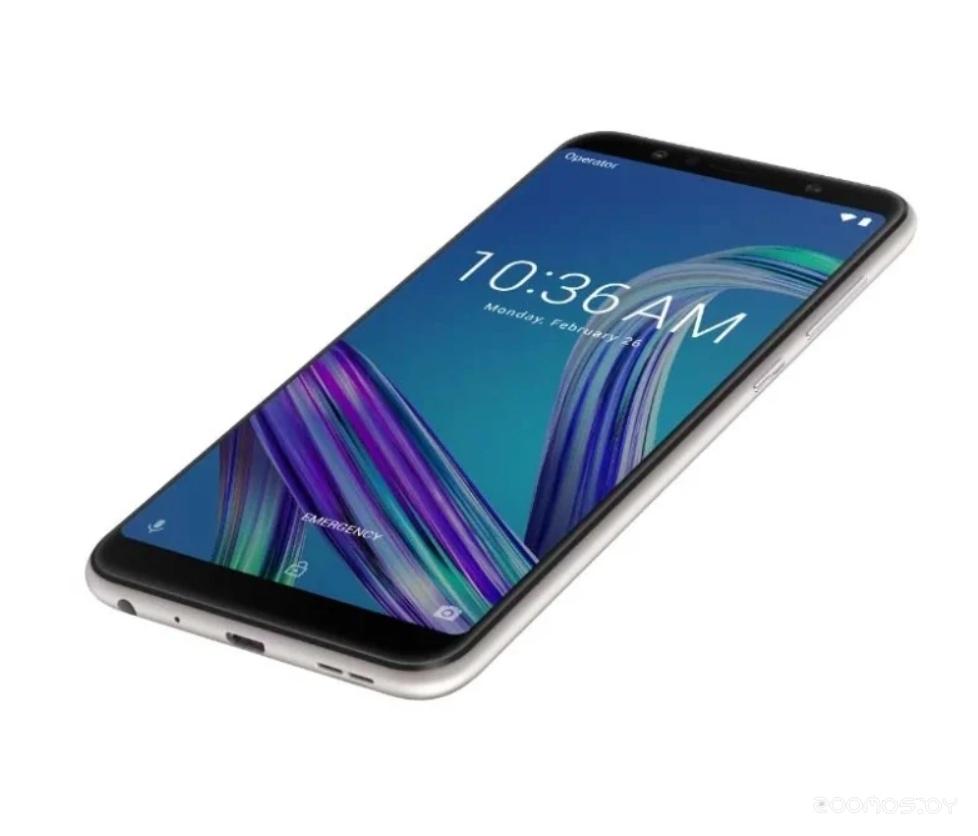 Мобильный телефон Asus ZenFone Max Pro M1 ZB602KL 4/64GB (Silver)
