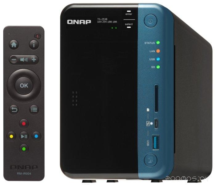 Сетевой накопитель QNAP TS-253B-4G