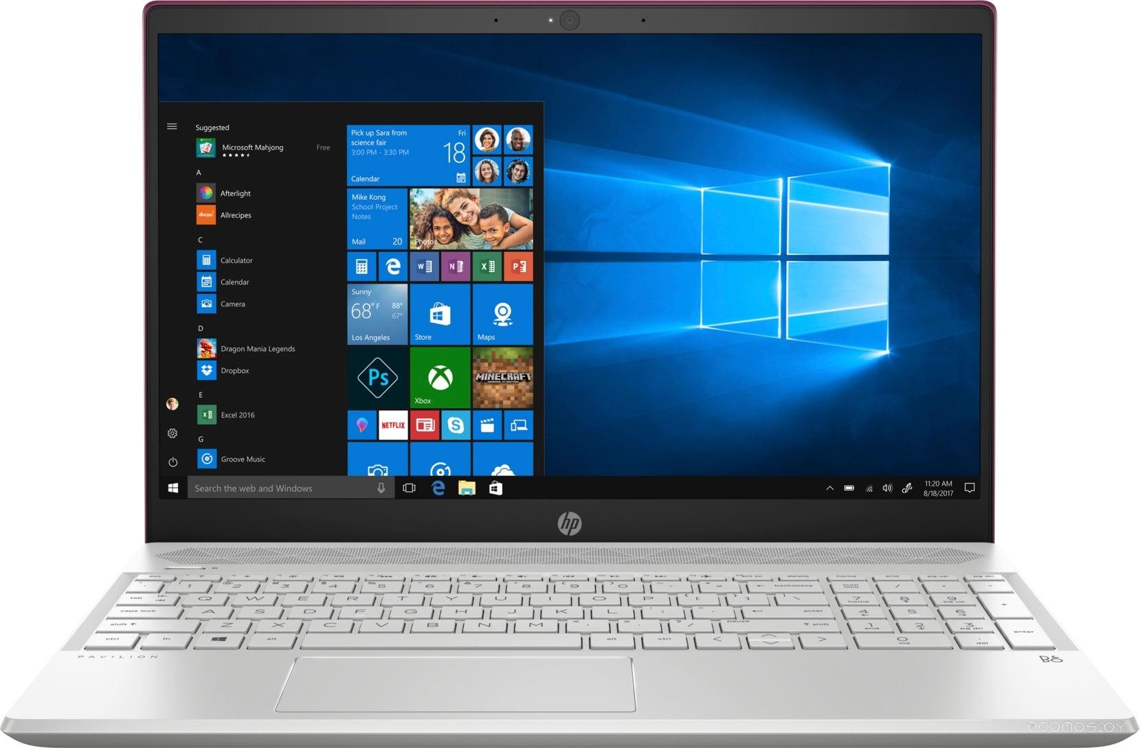 Ноутбук HP Pavilion 15-cs0005ur (4GP04EA)