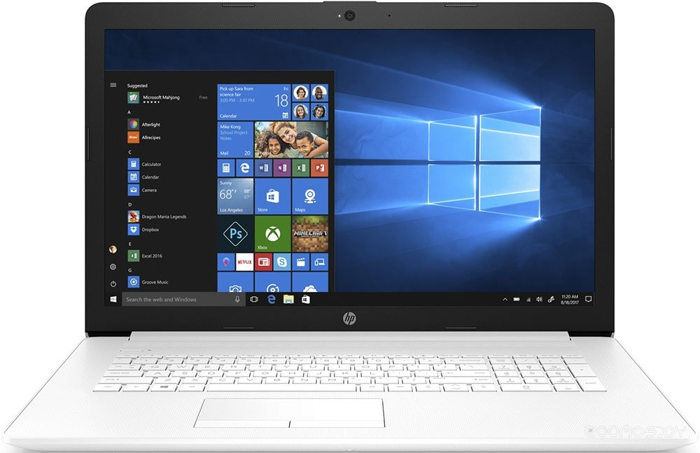 Ноутбук HP 17-by0022ur (4JV31EA)