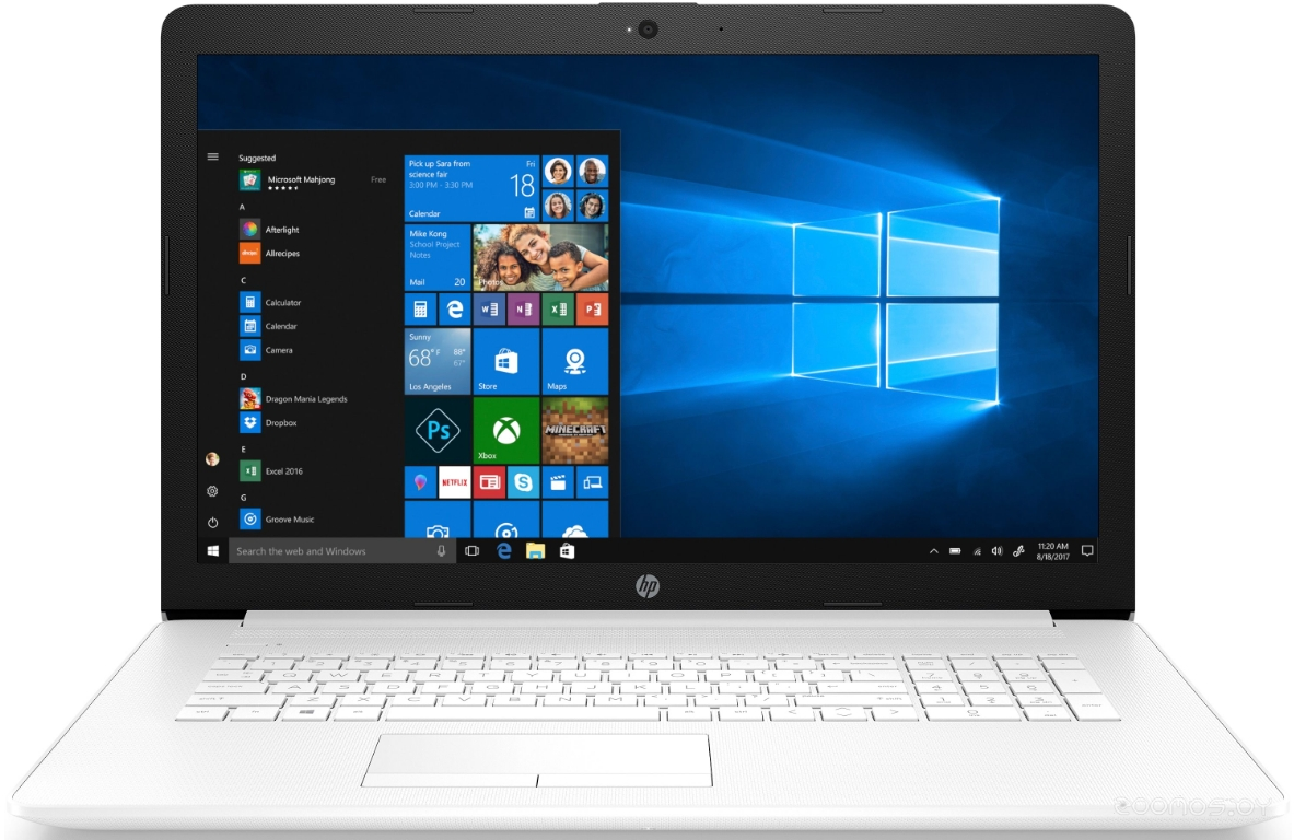 Ноутбук HP 17-ca0018ur (4KB31EA)