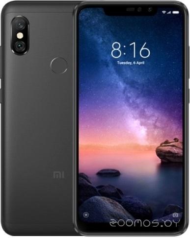 Мобильный телефон Xiaomi Redmi Note 6 Pro 4Gb/64Gb международная версия (Black)