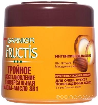 Маска для волос Garnier Fructis Тройное восстановление 300 мл