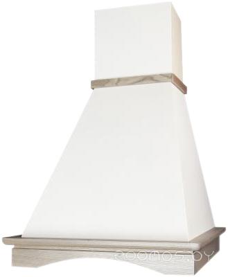 Вытяжка Elikor Вилла 60П-650-П3Л (Белый/Дуб неокрашенный)
