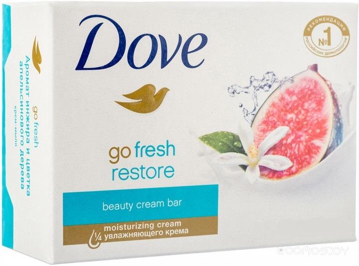Крем-мыло Dove Инжир и лепестки апельсина 135 г