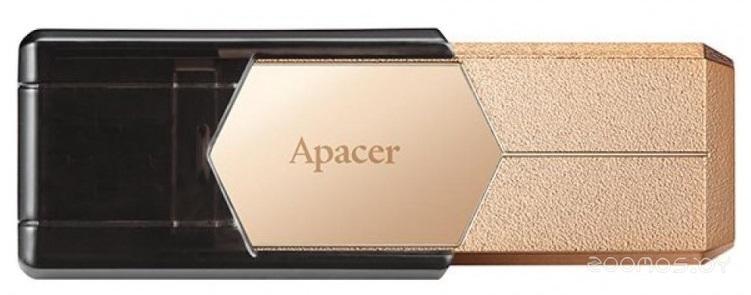 USB Flash Apacer AH650 64GB (Gold)
