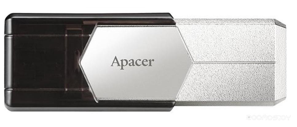 USB Flash Apacer AH650 64GB (Silver)