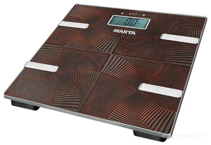 Напольные весы Marta MT-1675 коричневый оникс