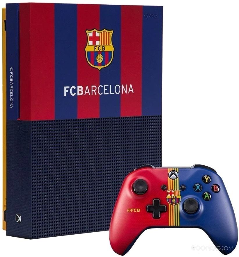 Игровая приставка Microsoft Xbox One S 1Tb FC Barcelona