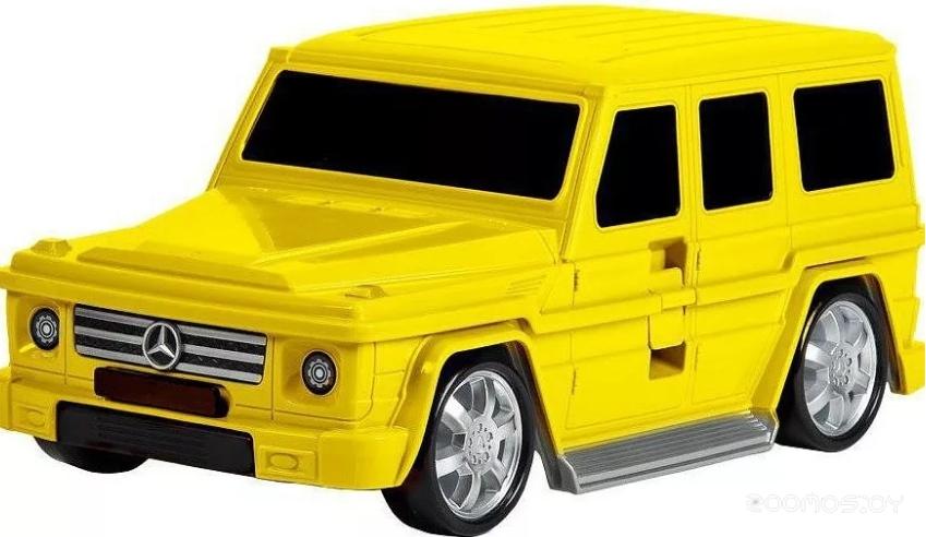 Детский чемодан Ridaz Mercedes G-class 91009W (Yellow)