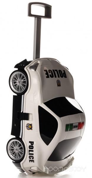 Детский чемодан Ridaz Toyota 86 Police 91005POW (White)