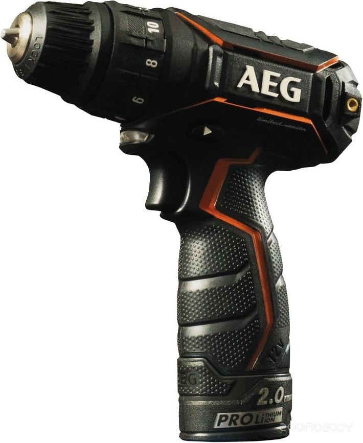 Дрель-шуруповерт AEG BS 12C2LE Li-202X 4935464412 (с 2-мя АКБ)