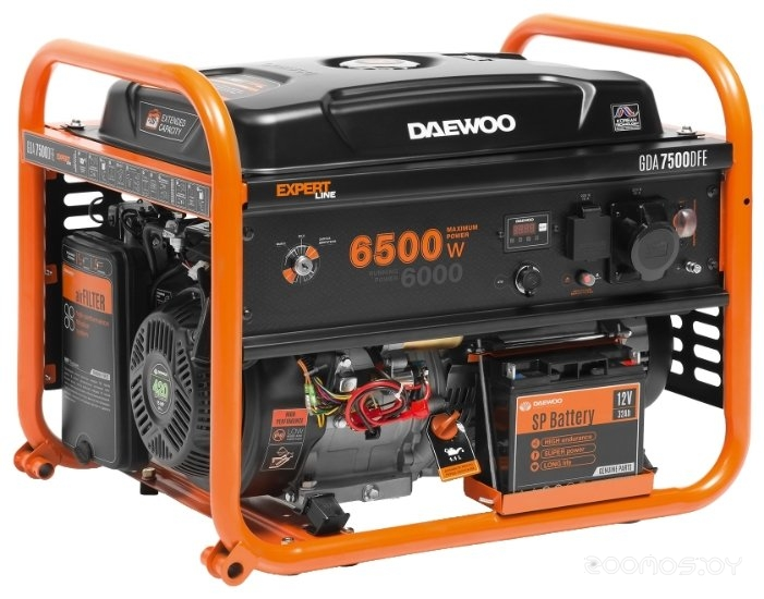 Электростанция Daewoo Power Products GDA 7500DFE