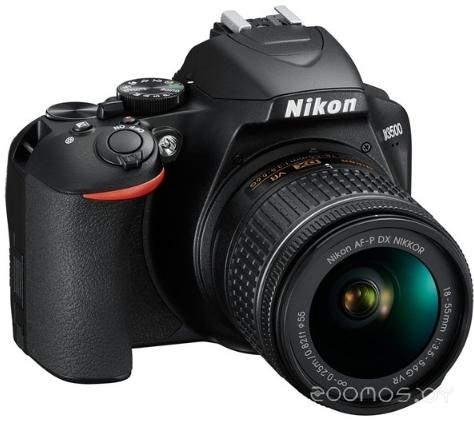 Цифровая фотокамера NIKON D3500 Kit 18-55 P VR (Black)