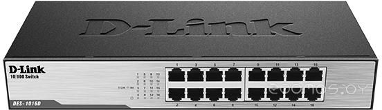 Коммутатор D-LINK DES-1016D/H1A
