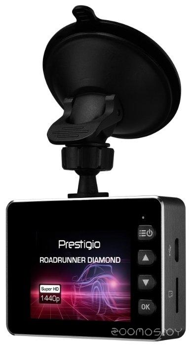 Автомобильный видеорегистратор Prestigio RoadRunner Diamond