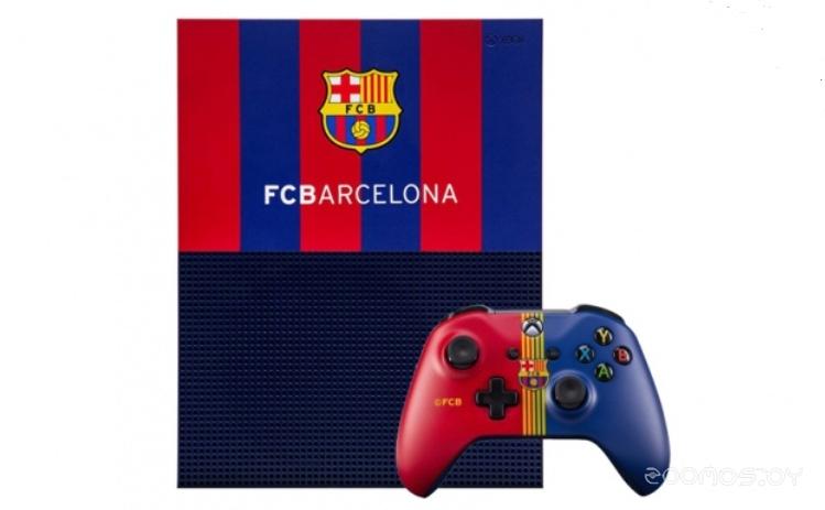 Игровая приставка Microsoft Xbox One S 1 Tb Барселона. Камп Ноу