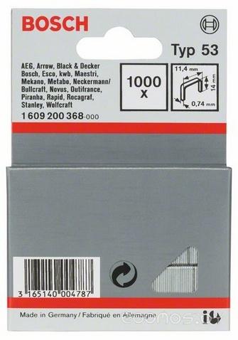 Скобы для степлера Bosch 1.609.200.368