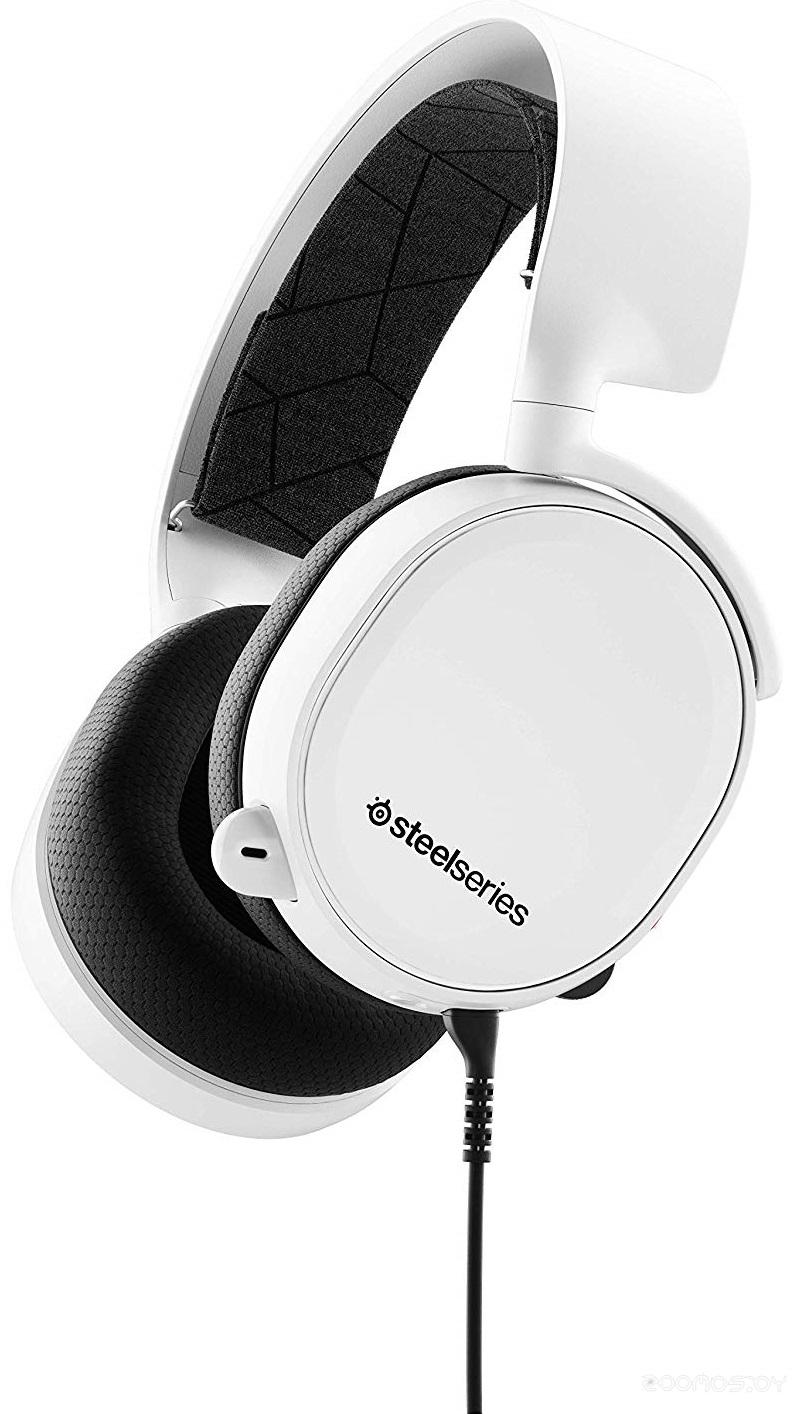 Компьютерная гарнитура SteelSeries Arctis 3 2019 Edition (white)