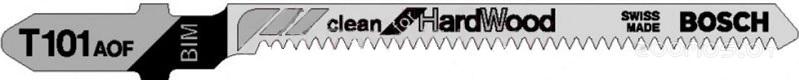 Унивесальный набор пилок для лобзика Bosch T 101 AOF