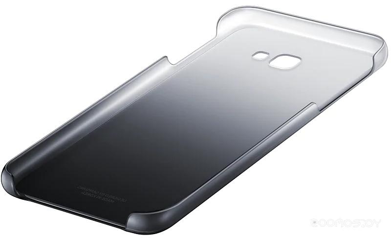 Чехол Samsung Gradation Cover для J4+ 2018 (Black)