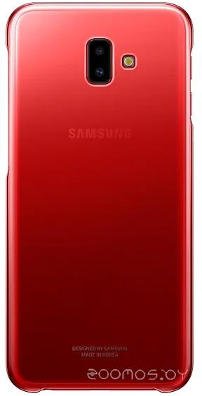 Чехол Samsung Gradation Cover для J6+ 2018 (Red)